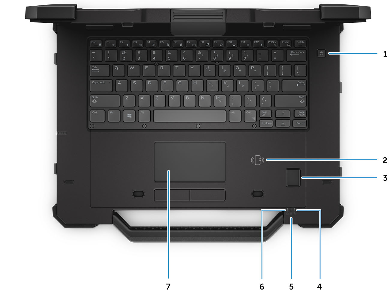 Dell Latitude 14 Rugged Extreme 7414 Owner S Manual