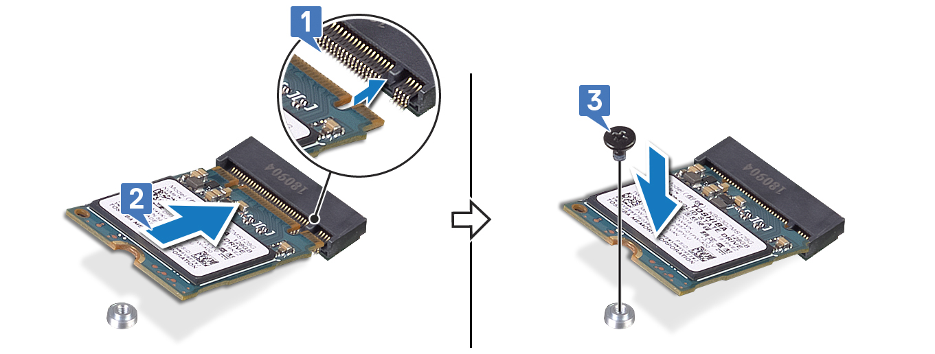 Image: Replacing the M.2 2230 card
