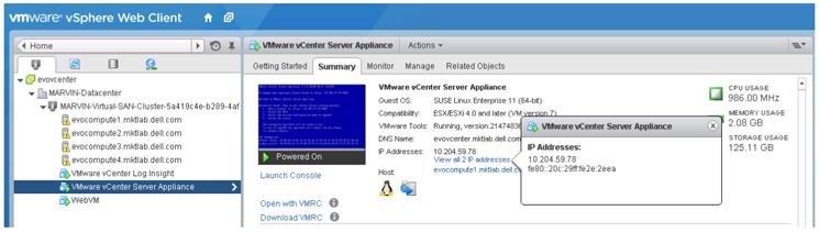 Dell Engineered Solutions for VMware EVO:RAIL Version 1 2