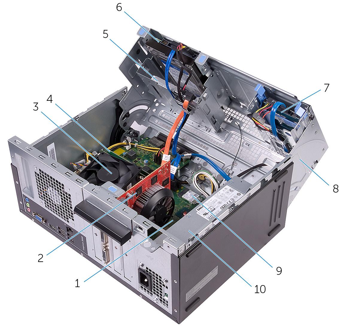 [WLLP_2054]   Inspiron 3668 Service Manual | Dell Computer Wiring Diagram |  | Inspiron 3668 Service Manual