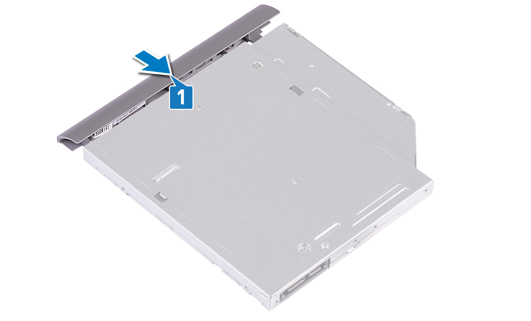 Image: Snap optical-drive bezel
