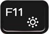 F11 键