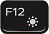 F12 键