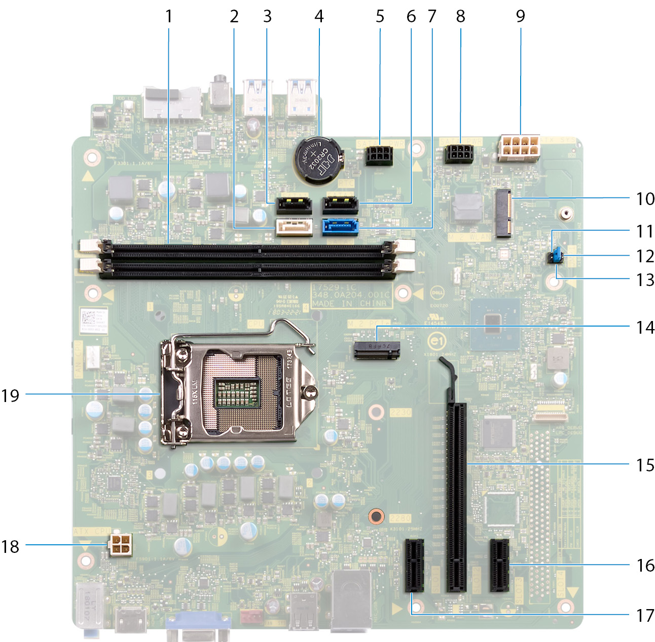 Dell N5110 Motherboard Schematic