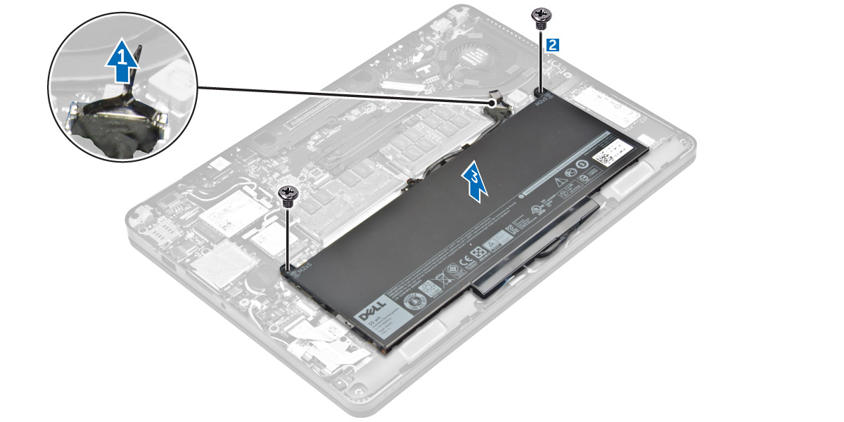How To Change Battery In Dell Latitude E7470 Dell Latitude