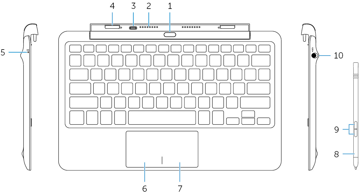 Image: Keyboard and pen features