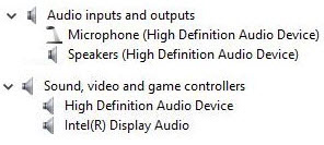 realtek hd audio driver manual