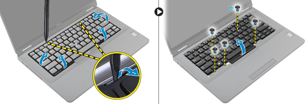 dell manual keyboard