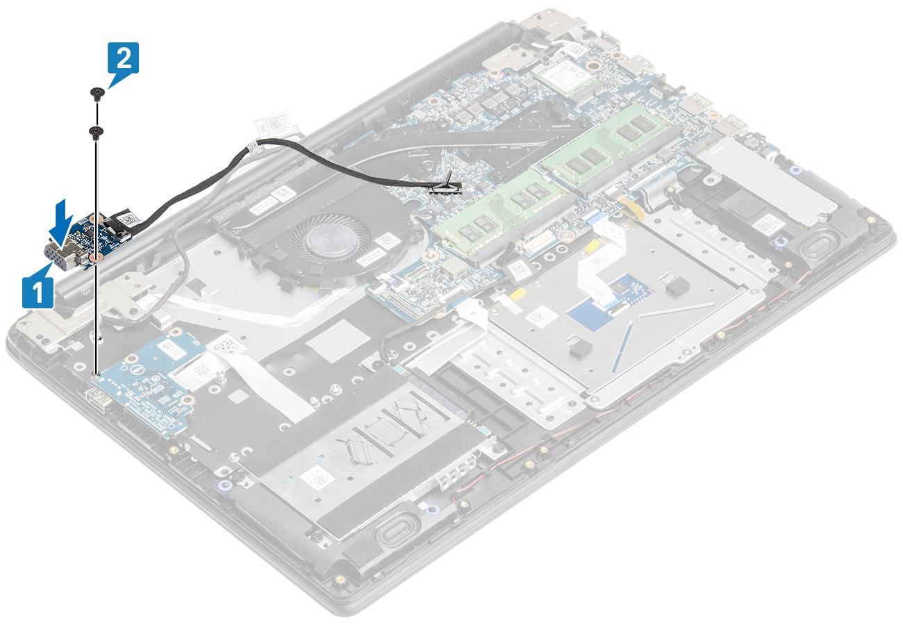 VGA-laiendusplaadi paigaldamine