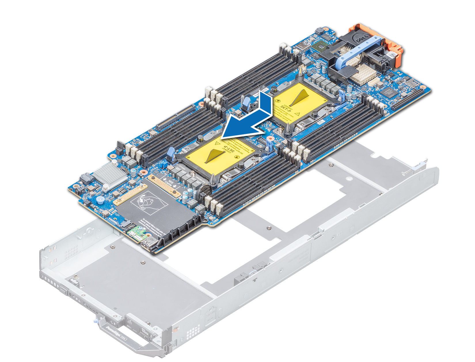 Dell EMC PowerEdge FC640 Installation and Service Manual