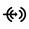 Icono del conector de línea de entrada