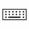 Icono del conector del teclado