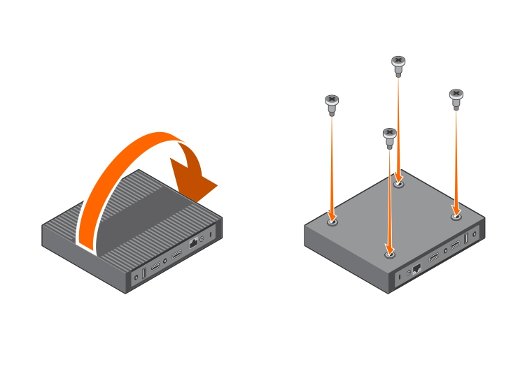 Monitor mount for 2017 P-series Dell monitors Installation guide