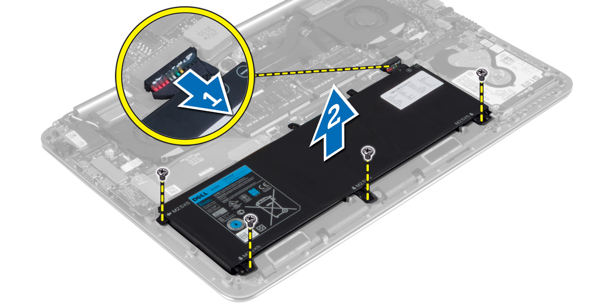 Dell Battery Diagram Wiring Diagram