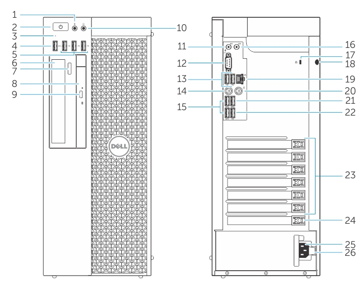 GUID D32D7A47 30C9 4C9C 9F07 8148D67CFF7E low dell precision tower 7810 owner's manual dell computer ports diagram at bakdesigns.co