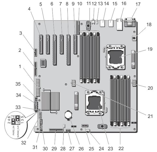Dell Xps 420 Motherboard Diagram