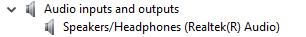 Essa imagem mostra a lista de drivers de áudio sem áudio Realtek