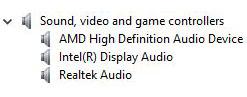 Upravljački programi za zvuk