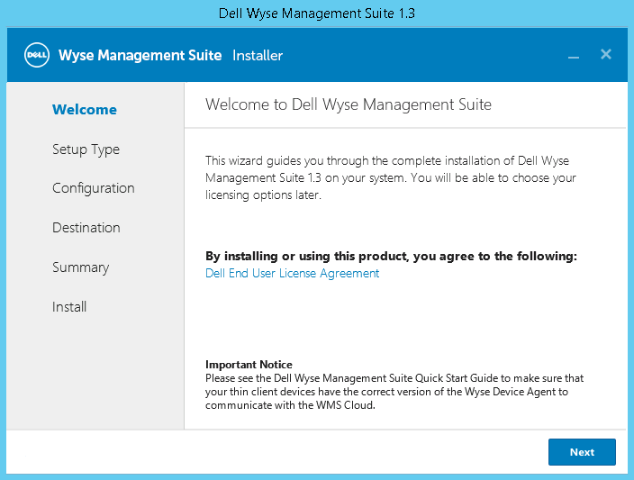 Dell Wyse Management Suite Version 1 3 Quick Start Guide