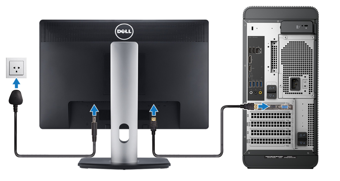 XPS 8930 Setup and Specifications