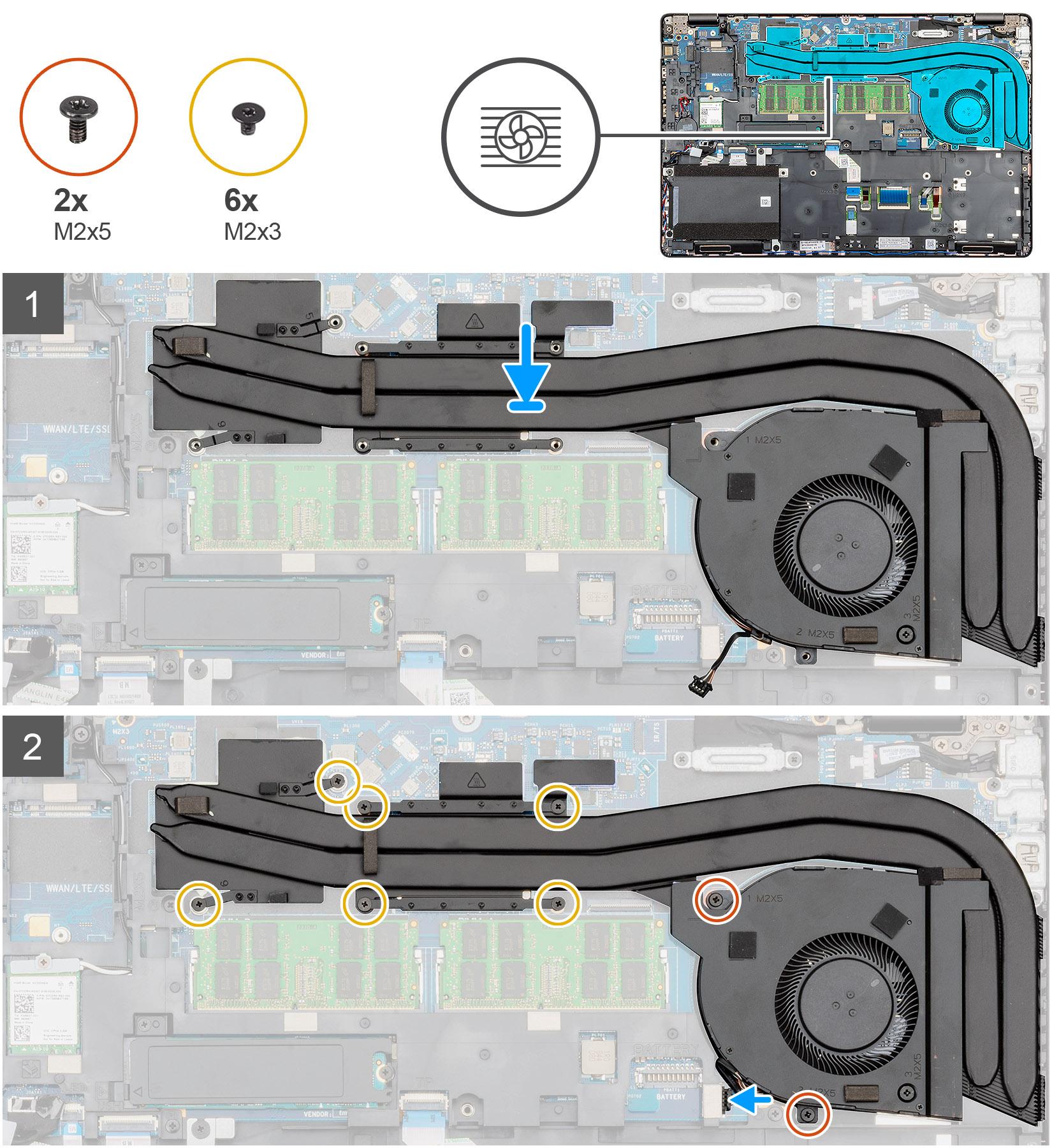 Installing the Heatsink-discrete