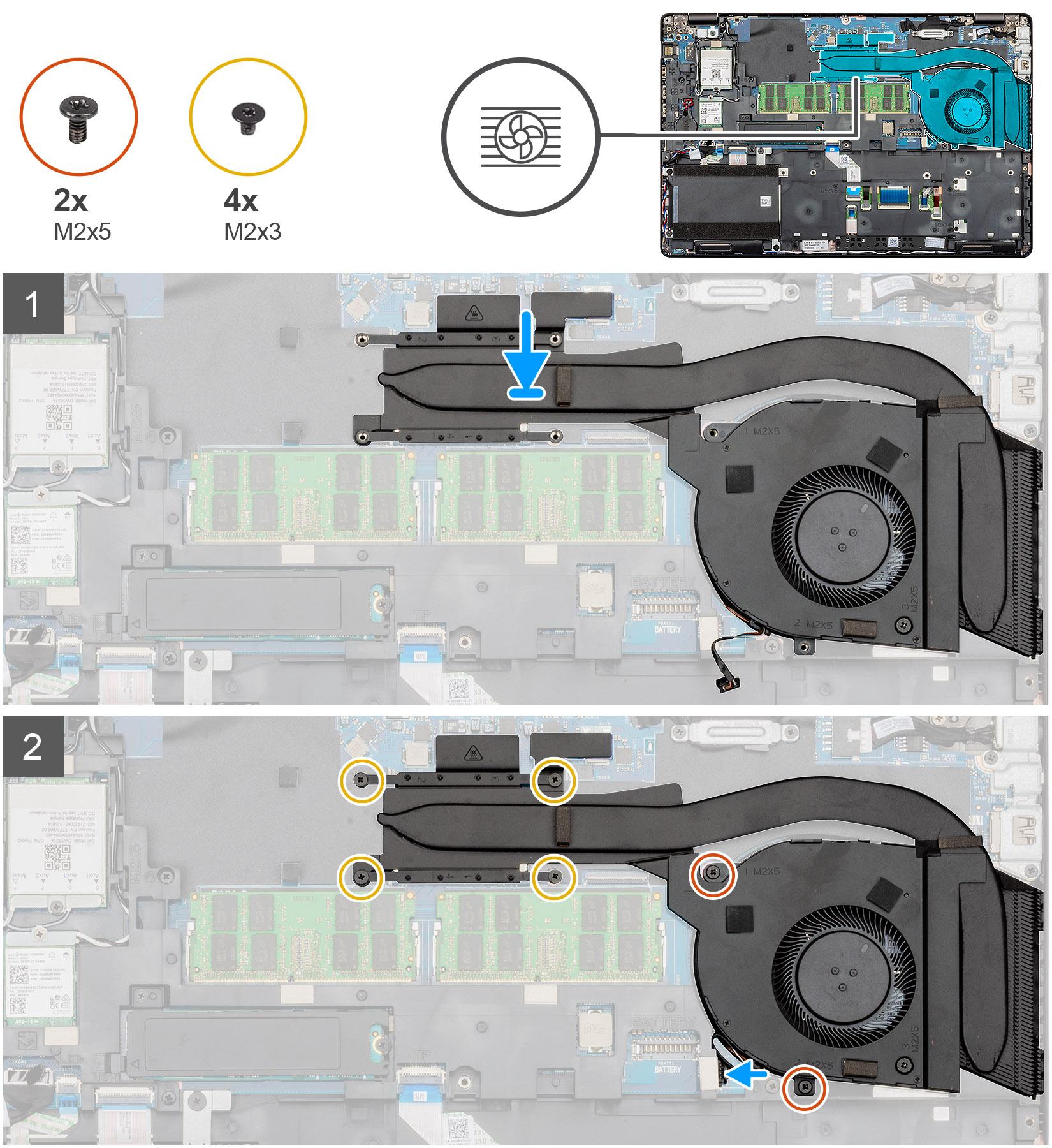 Installing the Heatsink-UMA