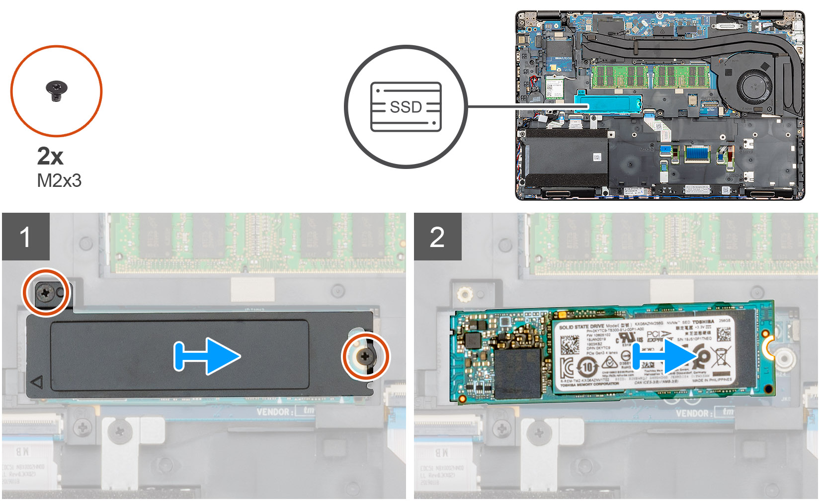 Removing the SSD
