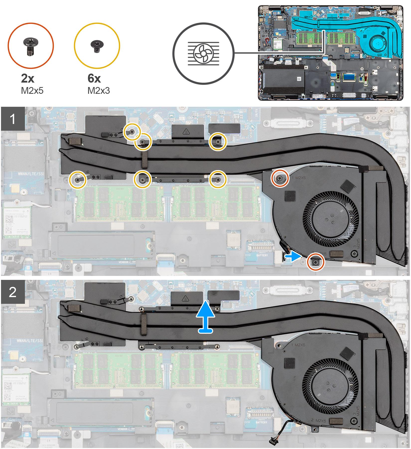 Removing the Heatsink-discrete