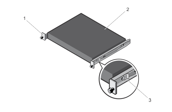 Illustration of attaching the switch rails.