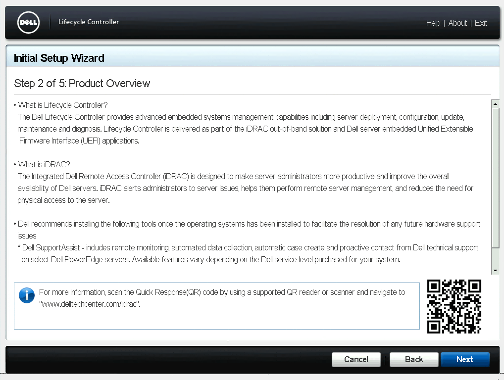 Product Overview Dialog