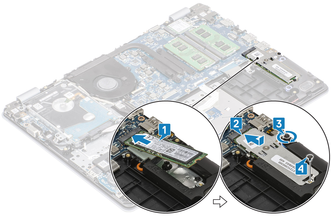 Image: Replacing the ssd/Intel Optane