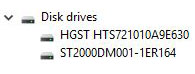 Disk drivers