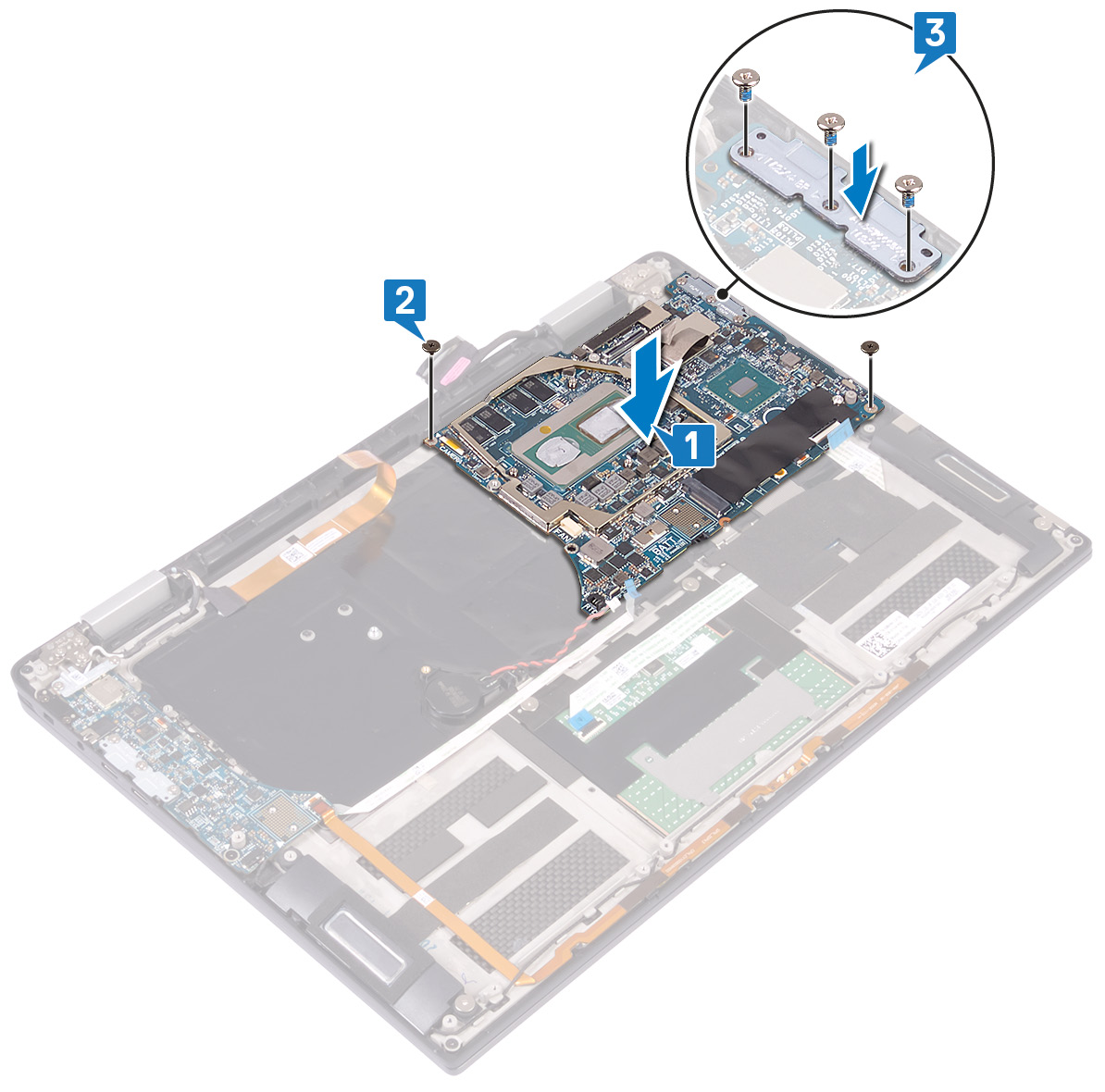 Image: Replacing the system board