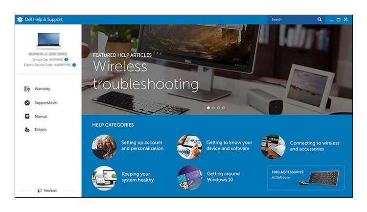 Dell Help & Support